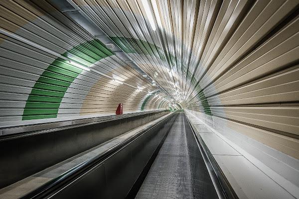 Underground....