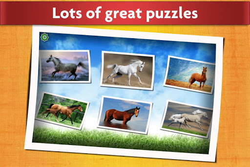 Horse Jigsaw Puzzles Game - For Kids & Adults ud83dudc34 apktram screenshots 2