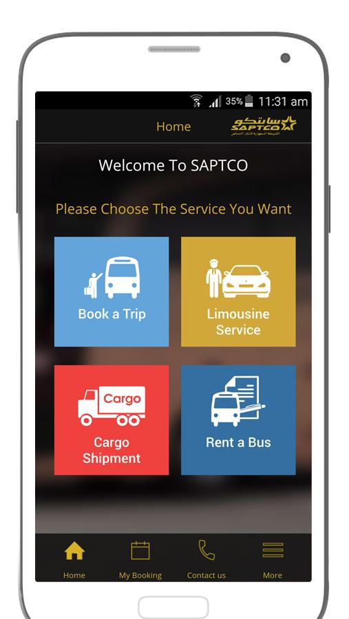 SAPTCO- screenshot