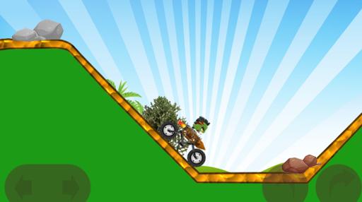 monster jungle bike