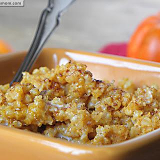 Pumpkin Vanilla Millet Porridge.