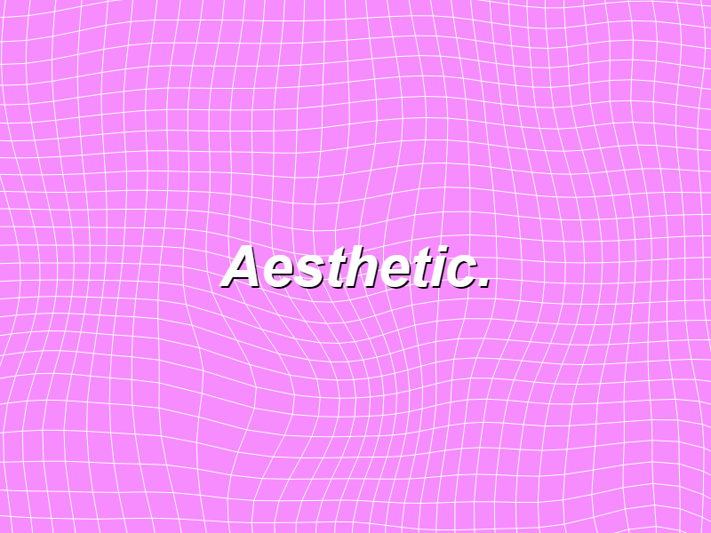 aesthetic by ted experiments with google