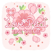 (FREE) Love Petal 2 In 1 Theme