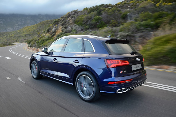 The SQ5 looks the part of a high-performance SUV with a muscular and sporty appearance. Picture: QUICKPIC