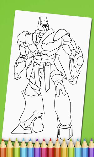 Indir Robots Coloring Book Apk Son Surumu Game88 Tarafindan