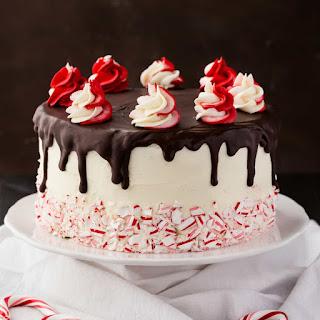 Peppermint Fudge Cake.