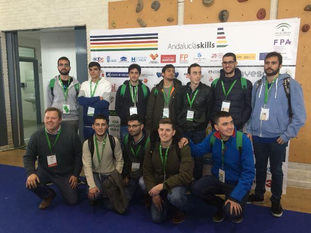 V Campeonato de Andalucía Skills