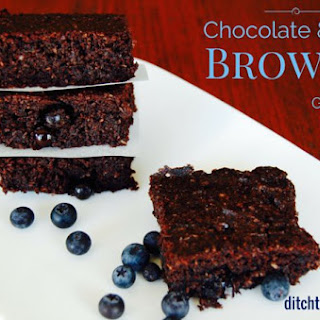 Low Carb Chocolate Berry Brownie
