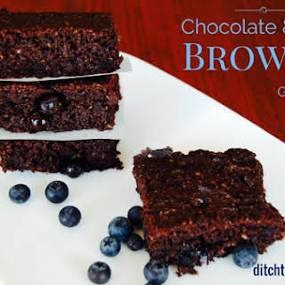 Low Carb Chocolate Berry Brownie.