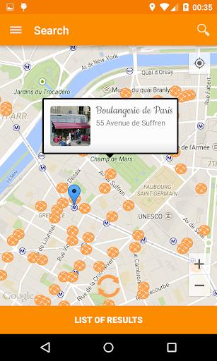 DuBonPain bakeries around you