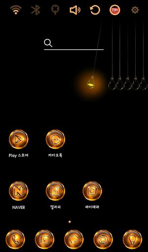 Pendulum Launcher Theme