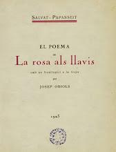 """Photo: Primera edició de """"La rosa als llavis"""""""