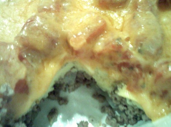 Impossible Cheeseburger Pie -- Gluten Free Recipe