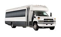 24 passenger shuttle bus from Calgary to Sunshine Village