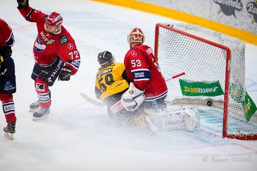 Joukkueiden edellinen kohtaaminen päättyi Topi Nättisen survomaan voittomaaliin jatkoajalla.