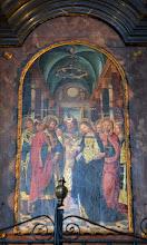 Photo: Tavola raffigurante lo Sposalizio della Vergine di Gandolfino da Roreto (1510-12)