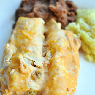 Mom's Chicken Enchiladas.