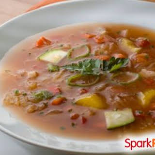 Vegetable Soup With Cabbage Homemade Recipes.