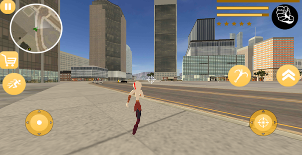 Download God Stickman Rope Hero Of War Gangstar Crime Mafia For PC Windows and Mac apk screenshot 2