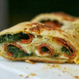 Spinach Pepperoni Bread