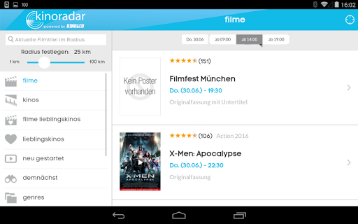 kinoradar - Kino, Filme & mehr 3.2.2 screenshots 17