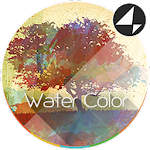 Water Color for Xperia™ Icon