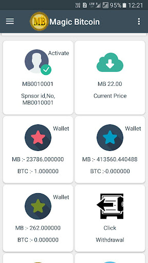 Magic Bitcoin 2.31 screenshots 2
