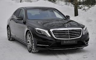 Mercedes Benz S-klasse Rent Akershus