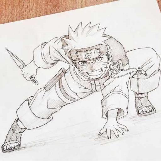 Download Sketsa Naruto Cartoon Google Play Softwares Aszyn7gcyjhu