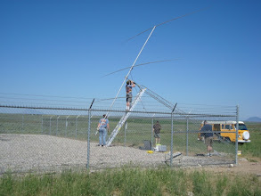 Photo: 204BA at the 20M ssb only station  KØIP FD2009