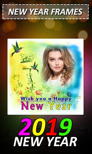 New Year Photo Frame 2019 1.0 screenshots 13