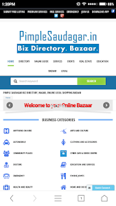 Pimple Saudagar Biz Directory screenshot 0