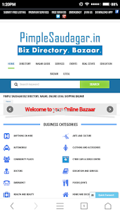 Pimple Saudagar Biz Directory- screenshot thumbnail