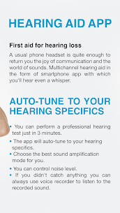 Hearing Aid App for Android 2