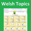 Vocab Game Welsh Topics