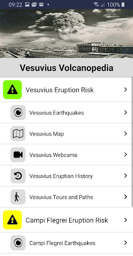Vesuvius Volcanopedia screenshots 1