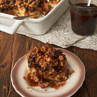 Peanut Butter-Chocolate Bread Pudding.