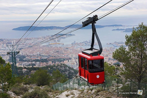 France-Toulon-tram.jpg - Take the tramway to the top of Mont Faron during your cruise to Toulon, France.