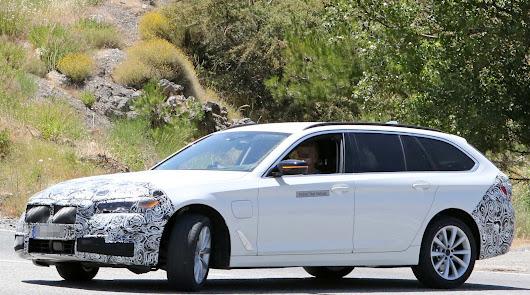 BMW prepara su nueva versión de la Serie 5