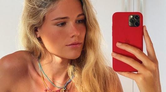 Ana Soria no quiere más corridas: en la playa mientras torea Enrique Ponce