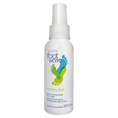desodorante para pies spray avon 100ml