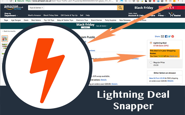 Lightning Deal Snapper