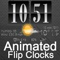 Live Wallpaper Flip Clock Tria icon