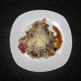 Paleo Bruschetta Chicken Pasta