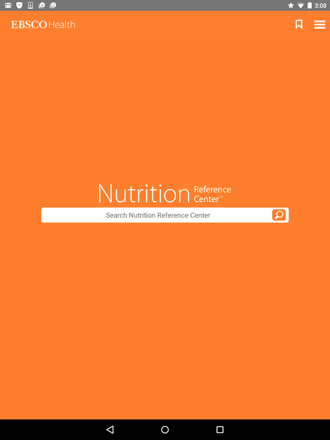 Nutrition Reference Center™- screenshot