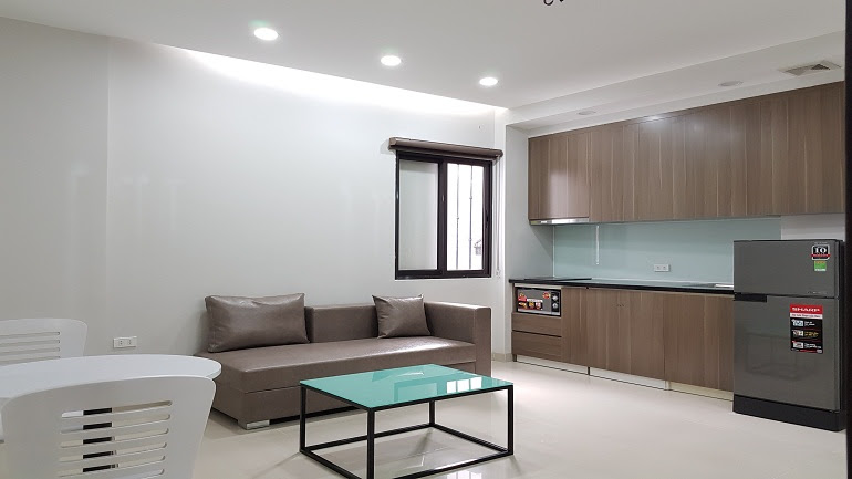 Cheap brand – new one bedroom apartment in Au Co street, Tay Ho district for rent