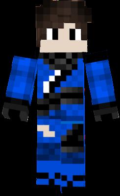 lego ninjago but jay with skin