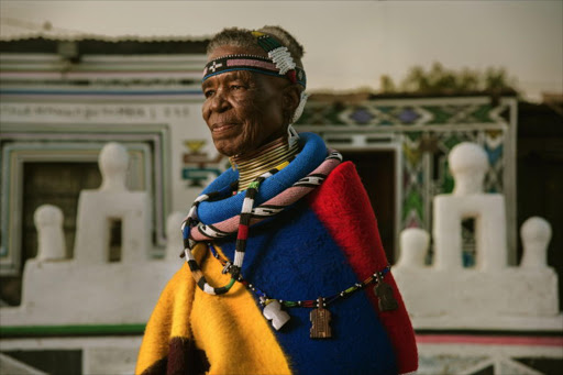 Esther Mahlangu.