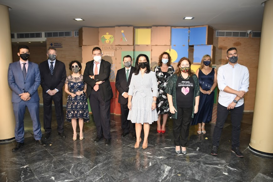 El Auditorio Maestro Padilla acogió los Premios Solidarios de la ONCE.