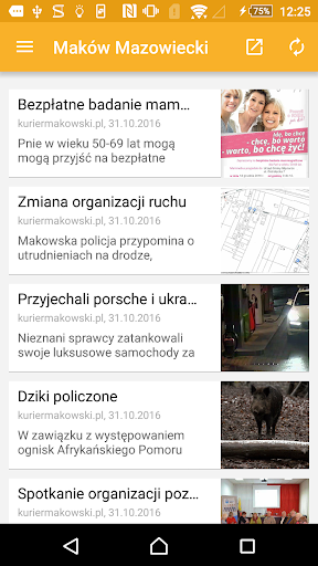 Mazowieckie Media  screenshots 1